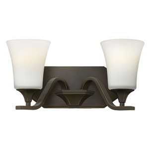 Brantley Olde Bronze Two Light Bath Fixture