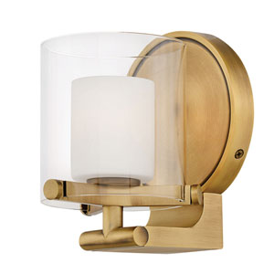 Rixon Heritage Brass One-Light Bath Sconce