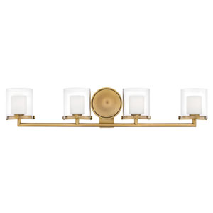 Rixon Heritage Brass Four-Light Bath Light