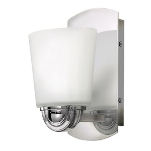 Kylie Chrome One-Light Bath Sconce