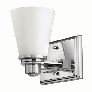 Avon Chrome One-Light Bath Fixture