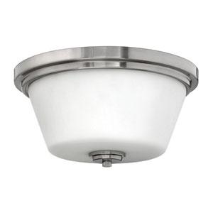 Avon Brushed Nickel Flush Mount Ceiling Light