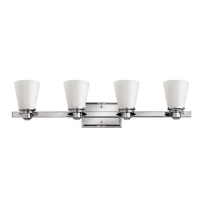Avon Chrome Four-Light Bath Sconce