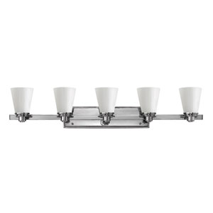 Avon Chrome Five Light Bath Light