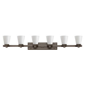 Avon Buckeye Bronze Six-Light Bath Sconce