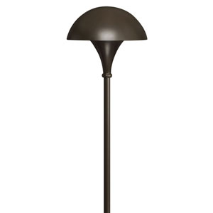Bronze Line Voltage Landscape Path Light