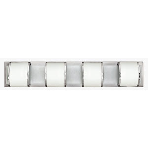 Mira Chrome Four-Light Vanity
