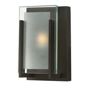 Latitude Oil Rubbed Bronze One-Light Bath Sconce