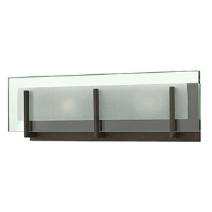 Latitude Chrome Two-Light 5.5-Inch Bath Light
