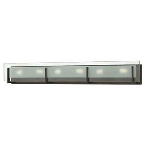 Latitude Chrome Six-Light 5.5-Inch Bath Light
