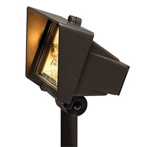 Bronze Line Voltage 6-Inch Landscape Floodlight