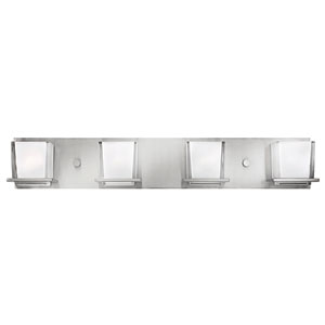Lola Brushed Nickel Four-Light Bath Light