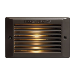Bronze Line Voltage 7.5-Inch Landscape Deck Light