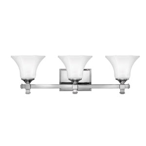 Abbie Chrome Three-Light Bath Light