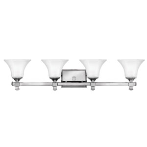 Abbie Chrome Four-Light Bath Light