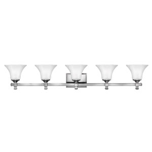 Abbie Chrome Five-Light Bath Light