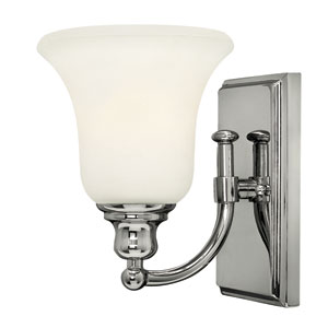 Colette Chrome One-Light Bath Fixture