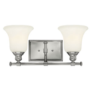 Colette Chrome Two Light Bath Fixture