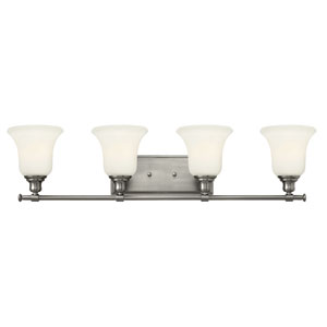 Colette Brushed Nickel Four Light Bath Fixture