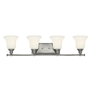 Colette Chrome Four Light Bath Fixture