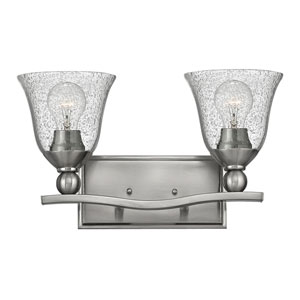 Bolla Brushed Nickel Two-Light Vanity