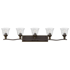 Bolla Olde Bronze Five-Light Vanity