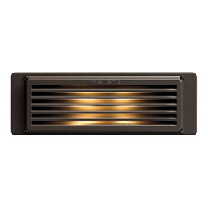 Bronze Line Voltage 10-Inch LED Landscape Deck Light