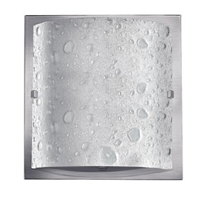 Daphne Brushed Nickel One-Light Bath Light