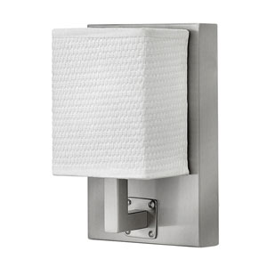 Avenue Brushed Nickel 5-Inch One-Light LED Sconce
