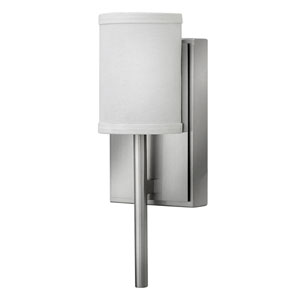 Avenue Brushed Nickel One-Light LED Sconce with Tail