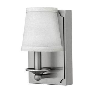 Avenue Brushed Nickel One-Light LED Sconce