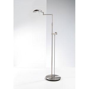 Satin Nickel LED Floor Lamp