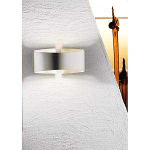 Voila Stainless Steel One-Light Wall Sconce