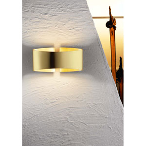 Voila Collection Brushed Brass Wall Sconce