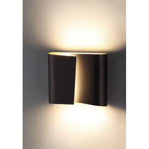 Filia Series Hand Brushed Old Bronze Two Light Wall Sconce