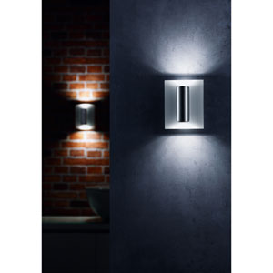 Ruben Brushed Aluminum LED Two-Light Wall Sconce