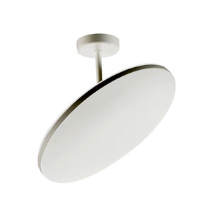 Orion Brushed Aluminum LED Four-Light Semi-Flush Mount
