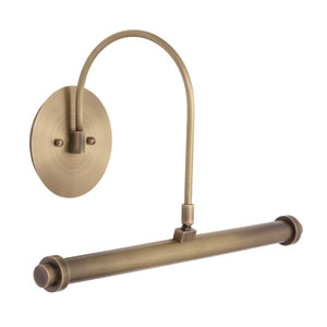 Slim-line Antique Brass 16-Inch LED Picture Light