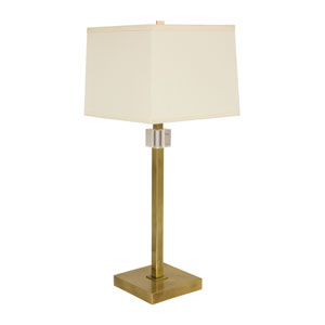 Somerset Antique Brass One-Light Table Lamp