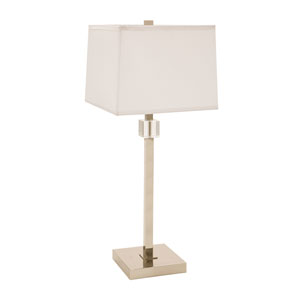 Somerset Polished Nickel One-Light Table Lamp