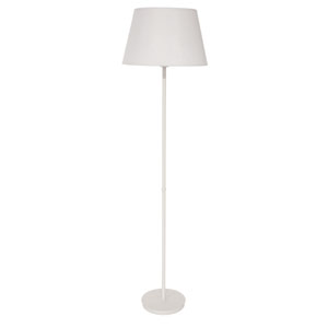 Vernon White Three-Light Floor Lamp