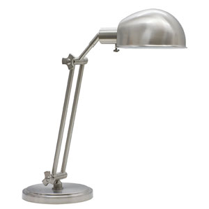 Addison Satin Nickel One-Light Table Lamp
