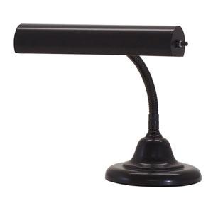 Advent Piano Black 10-Inch One-Light Piano or Desk Lamp
