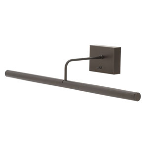 Slim-line Oil Rubbed Bronze 24-Inch LED Picture Light