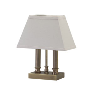 Coach Antique Brass One-Light Table Lamp