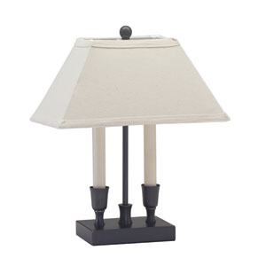 Coach Oil Rubbed Bronze Two-Light Table Lamp