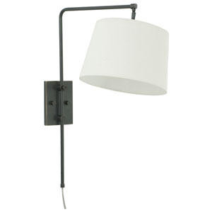 Crown Point Oil Rubbed Bronze One-Light  Wall Sconce