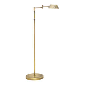 Delta Antique Brass 37-Inch LED Floor Lamp