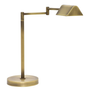 Delta Antique Brass 18-Inch LED Desk Lamp
