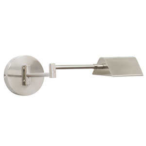 Delta Satin Nickel LED Wall Arm Swing